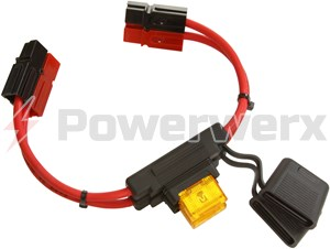 Picture of MAXI Fuse Holders with 75 Amp Powerpole Connectors