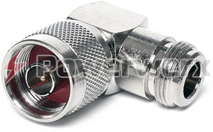 Picture of N Right Angle Adapter - Male N to Female N - RF-7652