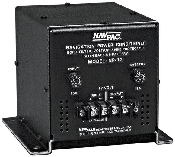 Picture of Newmar NP-12 NAV-PAC - DC Power Conditioner, Mobile UPS 12V backup