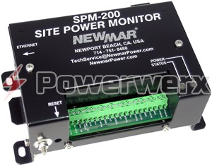 Picture of Newmar SPM-200 Site Power Monitor - Remote Monitoring of Critical Site Conditions