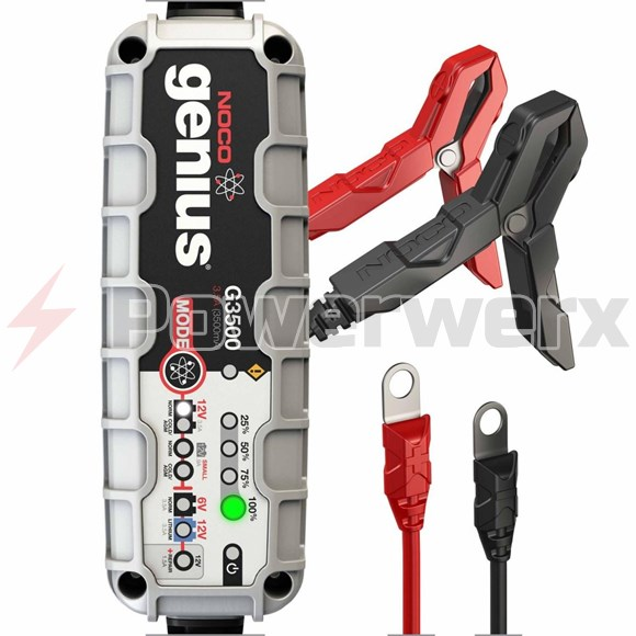 Picture of NOCO Genius G3500 6V/12V 3.5 Amp Smart Battery Charger and Maintainer