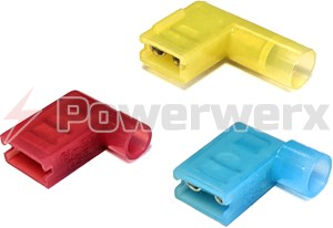 Picture of Nylon Flag Quick Disconnect Terminals, 0.25""