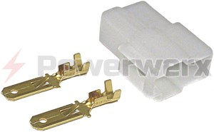 Picture of Original 2 pin Power connector for VHF/UHF - Radio Side