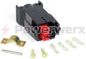 Picture of Plug with Latch for Chassis Mount Powerpole Connectors
