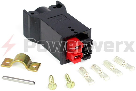 Picture of Plug without Latch for Chassis Mount Powerpole Connectors