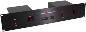 Picture of Powerwerx 30 Amp Dual Unit Rack Mount Switching Power Supply