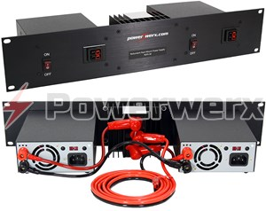 Picture of Powerwerx 30 Amp Redundant Rack Mount Switching Power Supply