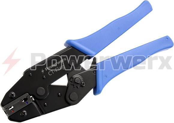 Ratchet Crimping Tool For Pre-Insulated Flag Terminals Connectors /& Crimps