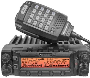 Picture of Powerwerx DB-750X Dual Band VHF/UHF 750 Channel Commercial Mobile Radio
