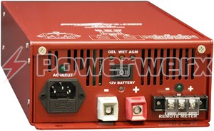Picture of Powerwerx Emergency Vehicle Fire Truck Battery Charger 12V DC 40 Amp