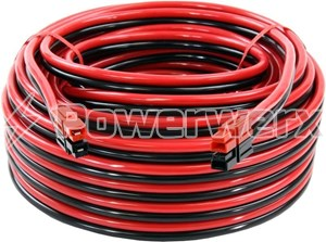 Picture of Powerwerx Fingerproof Vertical Anderson Powerpole Extension Cable 50 ft.