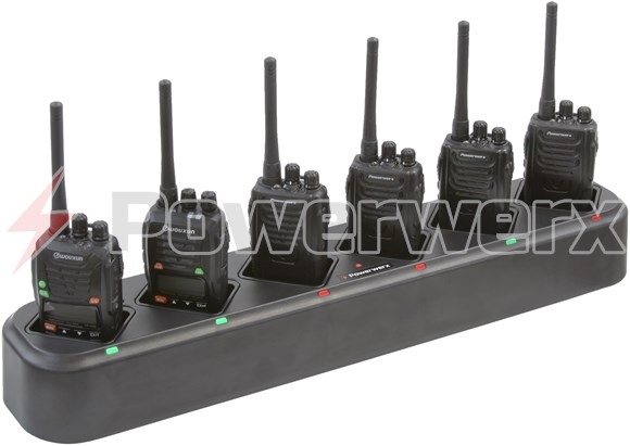Picture of Powerwerx GC-600 Rapid Rate Multi-Unit 6 Bay Gang Charger