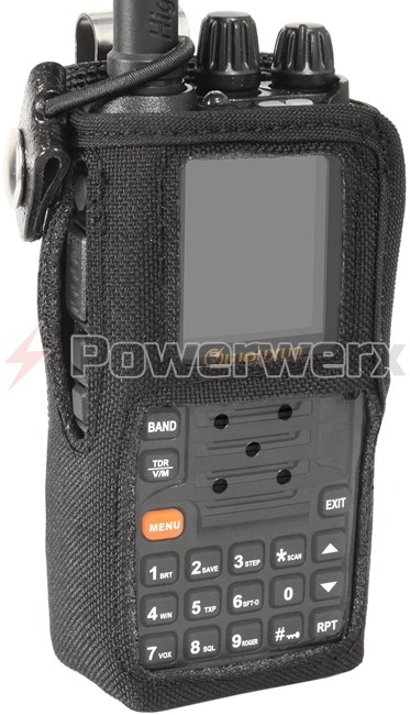 Picture of Powerwerx Heavy Duty Nylon Radio Case for KG-UV9D & KG-UV8D with Stainless Belt Clip