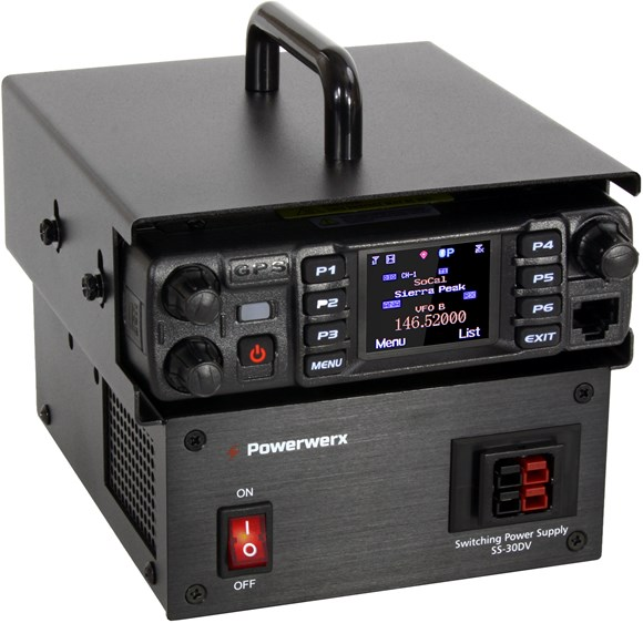 Picture of Powerwerx MBLCOVR Mobile Radio Base Station Enclosure with Power Adapter
