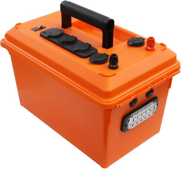 Picture of Powerwerx MEGAbox Portable Power Box for 30-70Ah Bioenno Batteries