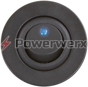 Picture of Powerwerx Panel Mount Blue Switch for 12V Systems