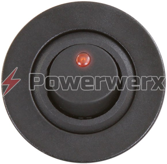 Picture of Powerwerx Panel Mount Red Switch for 12V Systems
