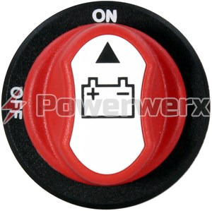 Picture of Powerwerx PanelHDSW Heavy Duty 100A Panel Mount ON-OFF Battery Switch