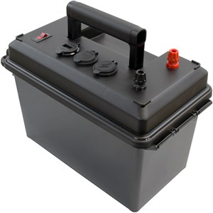 Picture of Powerwerx PWRbox Portable Power Box for 12-40Ah Bioenno Batteries
