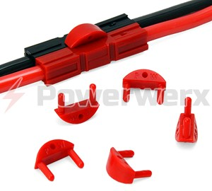 Picture of Powerwerx Retention Clips for PP15/30/45 Anderson Power Powerpole Connectors