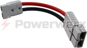 Picture of Powerwerx SB350 Gray to SB175 Gray Anderson Adapter Cable