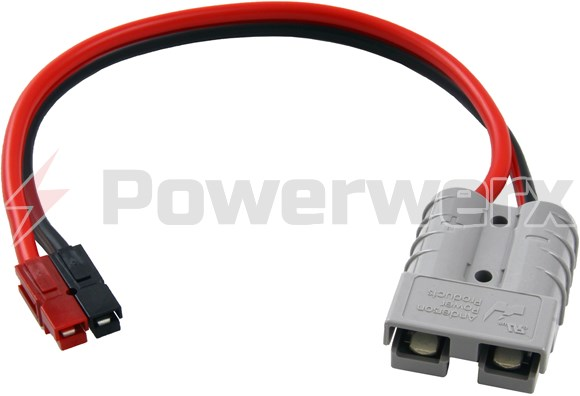 Picture of Powerwerx SB50 Gray to PP45 Adapter Cable