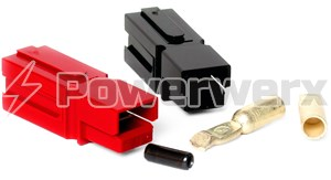 Picture of PP120 Red/Black 120 Amp Anderson Powerpole Kit