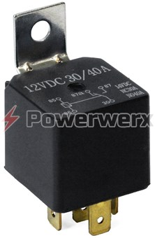 Picture of ProLink SPDT Relay with Metal Bracket 40 Amps