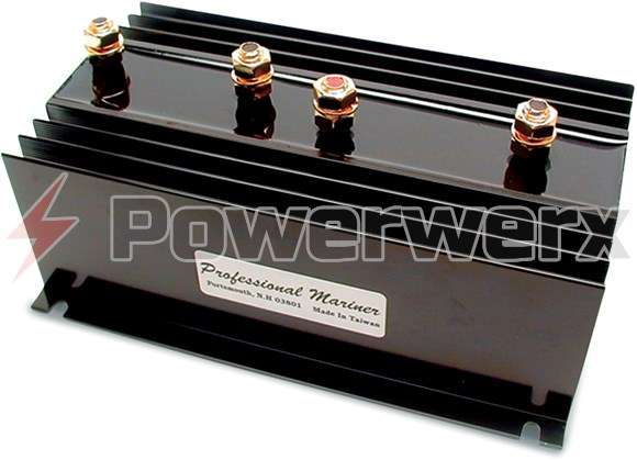 Picture of ProMariner 1-130-2 Battery Isolator, 1 Alternator, 2 Battery Banks