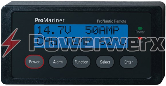Picture of ProMariner 63100 Remote LCD Battery Monitor for ProNautic P Series Battery Chargers
