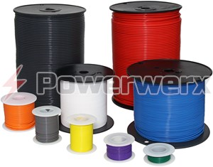 Picture of PTFE High Temperature Stranded Wire