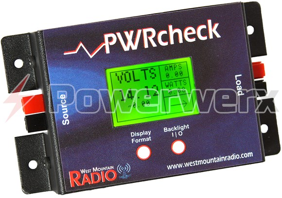Picture of PWRcheck, DC power analyzer, watt meter, with logging plus software via USB