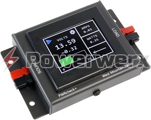 Picture of PWRcheck+, DC power analyzer, watt meter, with logging plus software via USB