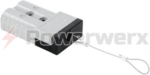 Picture of Rigid Protective Plug with Lanyard for Anderson Power SB350 Series Housings