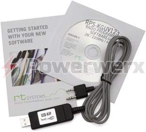 Picture of RT Systems Advanced Radio Programming Software and USB Cable Kit for Wouxun Radios