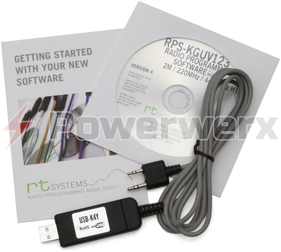 RT Systems Advanced Radio Programming Software and USB Cable Kit for Wouxun  Radios