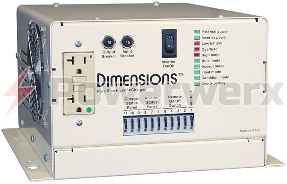 Picture of Sensata EV1200 Pure Sine Inverter/Charger 4200W