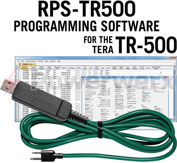 Tera Advanced Programming Software Cable Kit For Tera Tr 500 Powerwerx