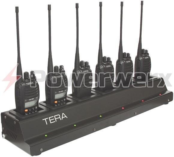 Picture of TERA CRG-56 Rapid Rate Multi-Unit 6 Bay Gang Charger