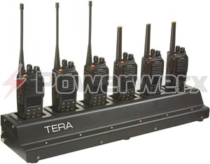 Picture of TERA CRG-76 Rapid Multi-Unit 6 Bay Gang Charger