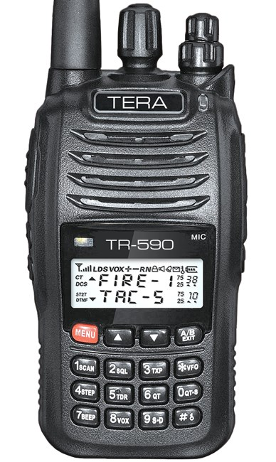Picture of TERA TR-590 Dual Band VHF/UHF 200 Channel Handheld Commercial Radio