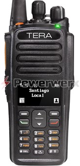 Picture of TERA TR-7200 Digital DMR VHF 1024 Channel Handheld Commercial Radio