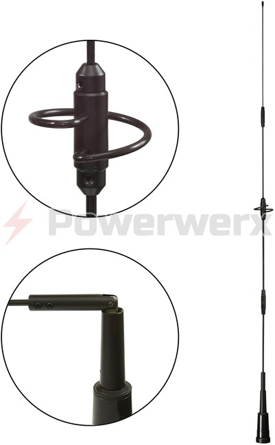 Picture of Ultra Wide Coverage VHF/UHF Dual-band Antenna for Public Safety and Amateur Radio