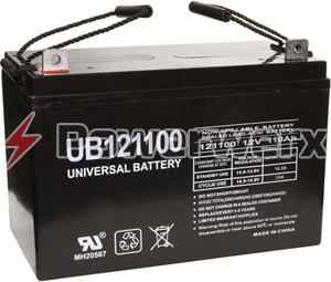 Picture of UPG UB121100 D5751 Group 30H 12V 110Ah L3 Terminal Sealed Lead Acid (SLA) Battery