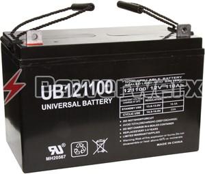 Picture of UPG UB121100 D5751 Group 30H 12V 110Ah L3 Terminal Sealed Lead Acid (SLA) Battery