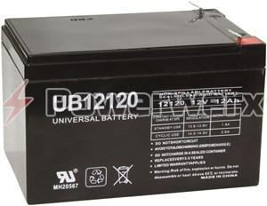 Picture of UPG UB12120 D5775 12V 12Ah F2 Terminal Sealed Lead Acid (SLA) Battery