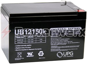 Picture of UPG UB12150 40672 12V 15Ah F2 Terminal Sealed Lead Acid (SLA) Battery
