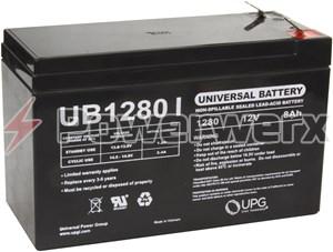 Picture of UPG UB1280 D5779 12V 8Ah F2 Terminal Sealed Lead Acid (SLA) Battery