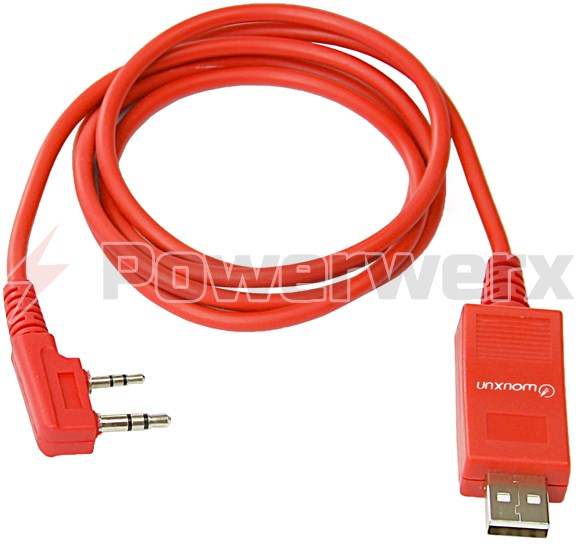 Picture of USB Programming Cable for Wouxun Radios works with all versions of Windows