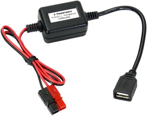 Picture of USBbuddy, Portable Powerpole (12V) to USB (5V) Converter and Device Charger